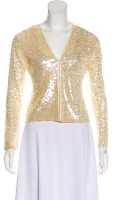 P.A.R.O.S.H. Embellished Lightweight Cardigan