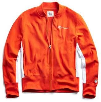 Todd Snyder + Champion Track Jacket in Sunset Orange