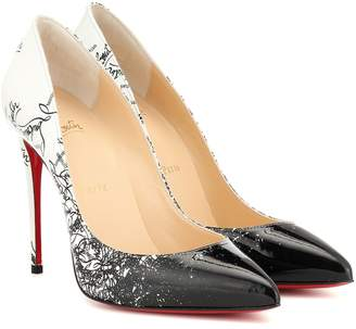0f8dd41c7 Christian Louboutin Exclusive to Mytheresa Pigalle Follies 100 patent  leather pumps
