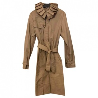 Viktor & Rolf Beige Cotton Trench Coat for Women