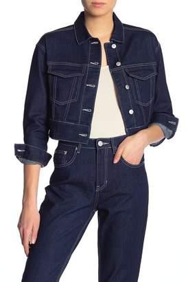 UNIONBAY Harrison Crop Denim Jacket