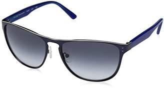 Elie Tahari Women's EL 203 NVY Wayfarer Sunglasses