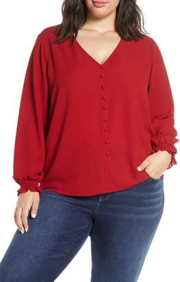 1 STATE 1.STATE Long Sleeve Blouse