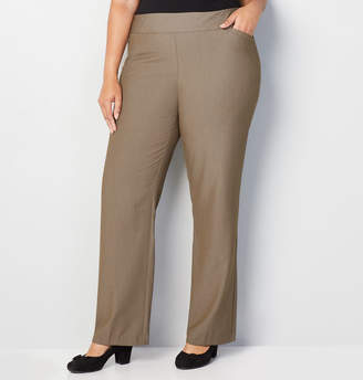 Avenue Luxe Slimming Pull-On Pant with Tummy Control