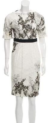 Antonio Marras Printed Lace Dress w/ Tags