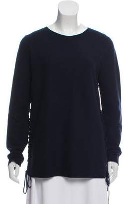 bf25ce31ae Side Lace Up Sweater - ShopStyle