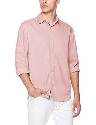 Isle Bay Linens Men's Standard-Fit Long Sleeve Casual Shirt