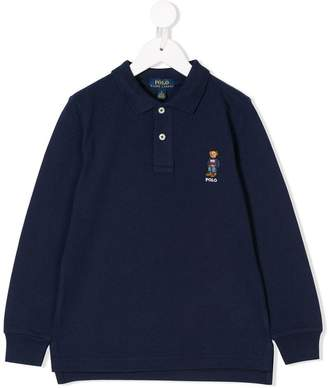 Ralph Lauren Kids Polo Bear shirt