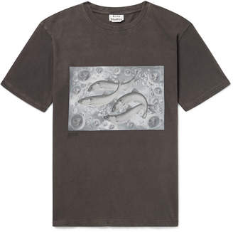 Acne Studios Bemabe Printed Cotton-Jersey T-Shirt