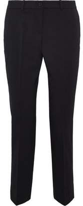 Michael Kors Cropped Stretch-wool Twill Slim-leg Pants