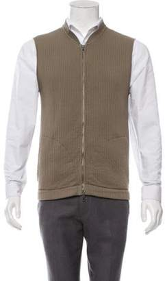 Maison Margiela Vintage Zip-Up Sweater Vest Vintage Zip-Up Sweater Vest