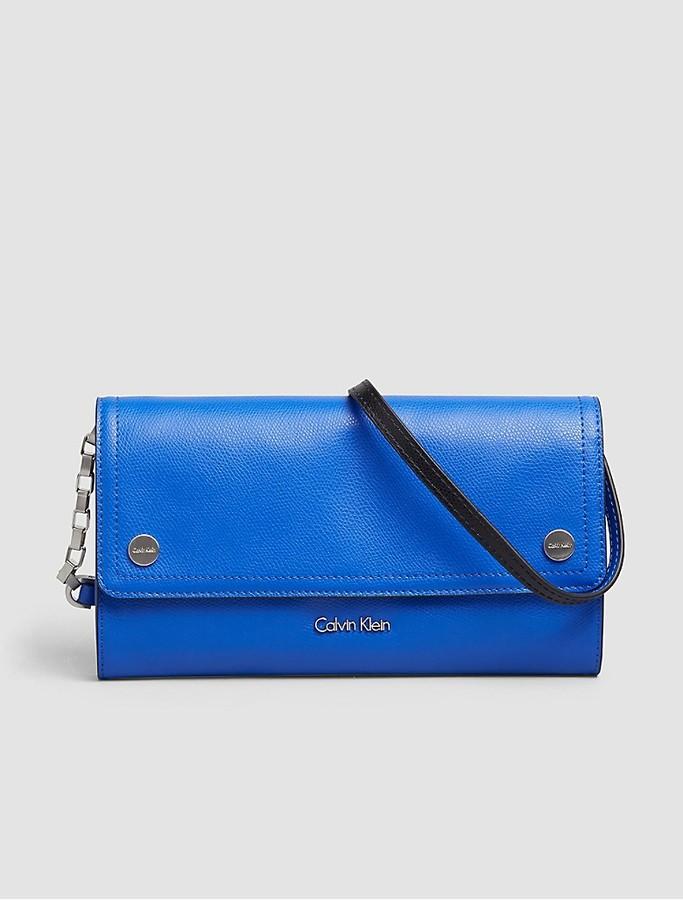 Calvin KleinJulienne Leather Clutch