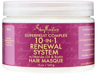 SheaMoisture 10 in 1 Renewal System Hair Masque $13.49 thestylecure.com