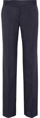 Stella McCartney - Jasmine Wool-twill Wide-leg Pants - Navy