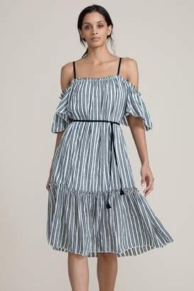 Lemlem Shirred Long Dress