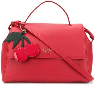 Tosca hanging cherry tag tote