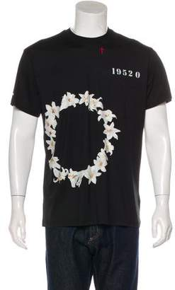 Givenchy 2016 Floral Print T-Shirt w/ Tags