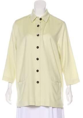 Loro Piana Cashmere Button-Up Jacket
