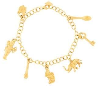 Amrapali 18K Charm Bracelet