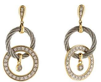 Charriol Diamond Drop Earrings