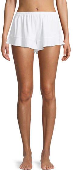 Buy Skin Ruffled Cotton Lounge Shorts!