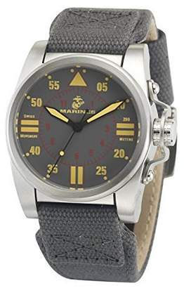 Wrist Armor Men's 37WA010101A United States Marine Corps Analog Display Swiss Quartz Watch