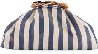 Sanayi313 Salerno Striped Clutch Bag