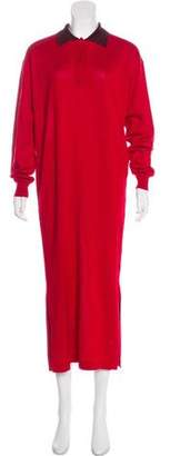 Loewe Colorblock Maxi Dress