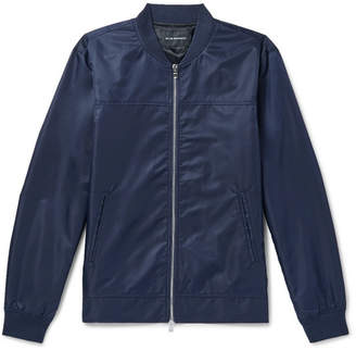 Club Monaco Shell Bomber Jacket