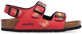 Birkenstock Cars Print Faux Leather Sandals