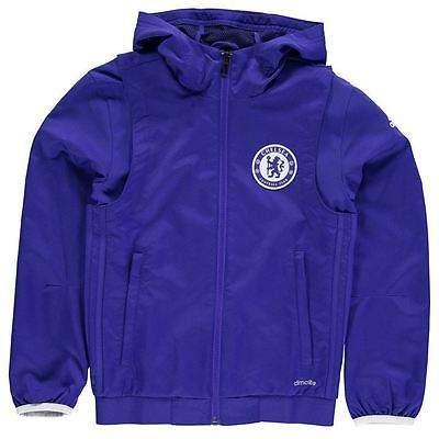 Kids CFC EU Pre Jacket Junior Boys Full Zip Long Sleeve Hooded Casual Top