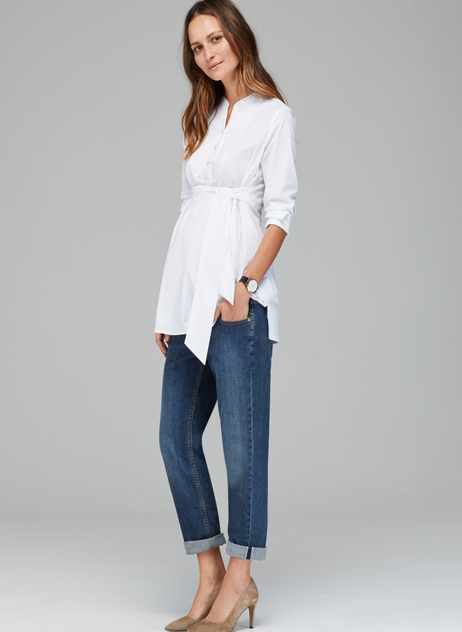 The Relaxed Maternity Jean