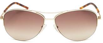 MARC JACOBS Rimless Aviator Sunglasses, 59mm $130 thestylecure.com
