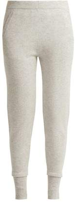 Allude Cashmere Leggings - Womens - Light Grey