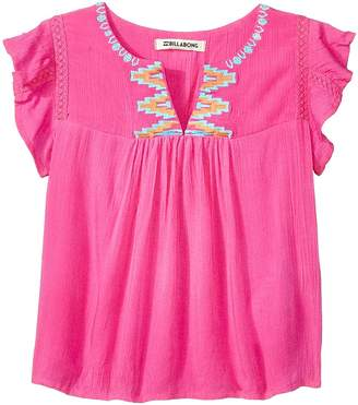 Billabong Kids All in a Day Top Girl's Clothing