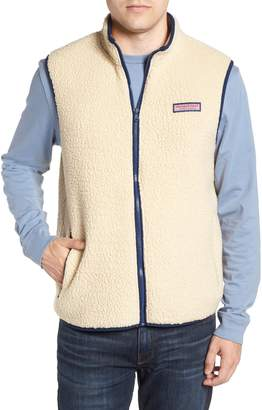 Vineyard Vines Harbor Regular Fit Fleece Vest