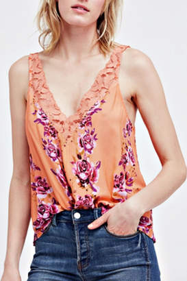 Free People Morning Rose Cami