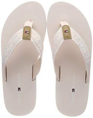 9a1c1b373cd183 at Amazon.co.uk · Tommy Hilfiger Women s Sporty Flat Beach Sandal Flip Flops