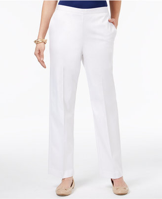 Alfred Dunner Corsica Pull-On Pants $48 thestylecure.com