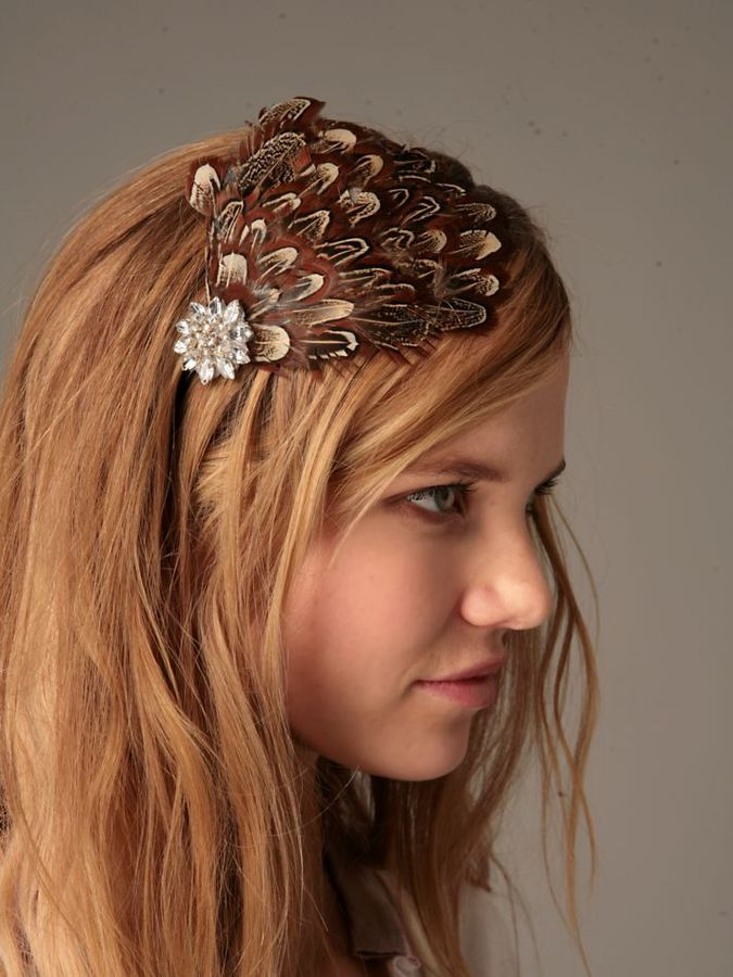 Feather Flapper Headband