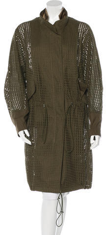3.1 Phillip Lim 3.1 Phillip Lim Perforated Trench Coat w/ Tags