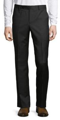 Black & Brown Black Brown Classic Wool Pants