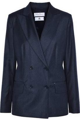Max Mara Double-Breasted Wool Blazer