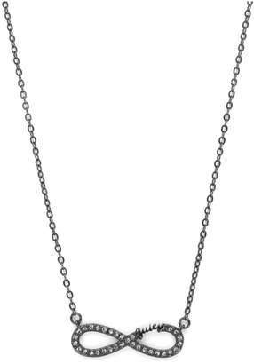 Juicy Couture Pave Infinity Luxe Wishes Necklace
