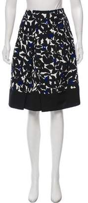 Tara Jarmon A-Line Knee-Length Skirt