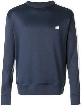 Ami Alexandre Mattiussi bicolor crewneck sweatshirt
