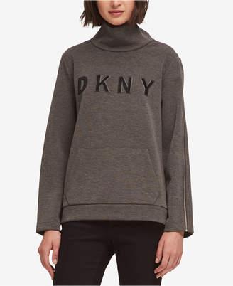 DKNY Logo Turtleneck Sweater, Created for Macy's