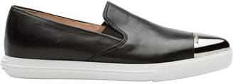 Miu Miu pointed toe slip-on sneakers