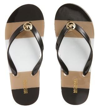 Women's Michael Michael Kors Flip Flop $48.95 thestylecure.com