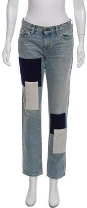 Simon Miller Distressed Mid-Rise Jeans w/ Tags